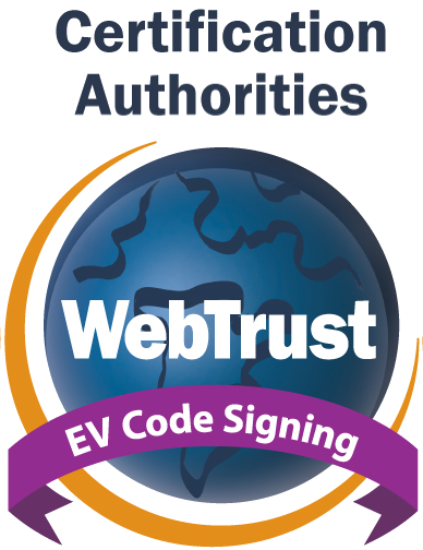WebTrust EV CS