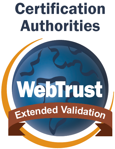 WebTrust EV SSL