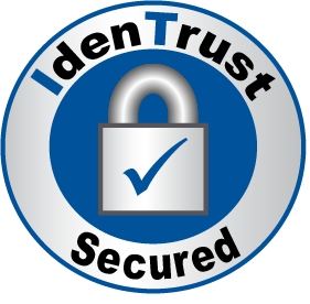 IdenTrust Secured Logo