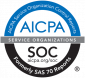 AICPA SOC certificate badge